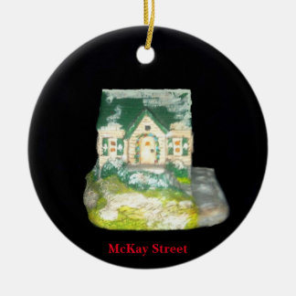 MCKAY STREET OLD TOWN VILLAGE XMAS ORNAMENT