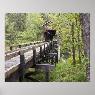 McKee covered bridge, Jacksonville, Oregon Poster