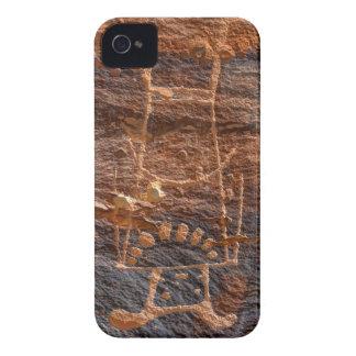 Mckee Springs Petroglyph - Vernal - Utah iPhone 4 Cases