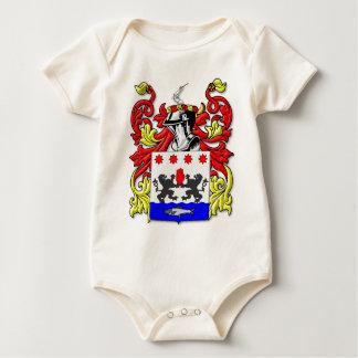 McKeon Coat of Arms Baby Bodysuit