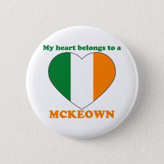 Mckeown 2 Inch Round Button