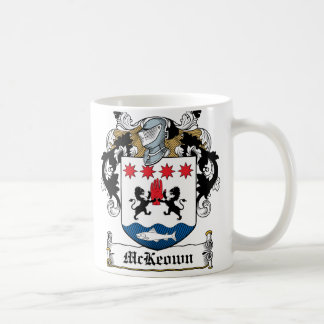 McKeown Family Crest Coffee Mug