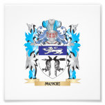 Mckie Coat of Arms - Family Crest Photographic Print