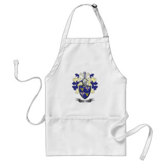 McKinney Family Crest Coat of Arms Standard Apron