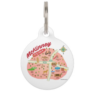 McKinney Texas Dog Tag