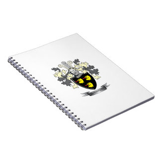 McKnight Family Crest Coat of Arms Notebook