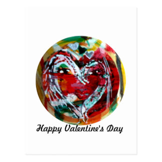 MClairArts Funny Sun Faces Valentine Cards Postcard