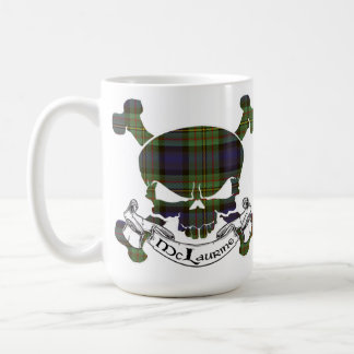 McLaurine Tartan Skull Coffee Mug