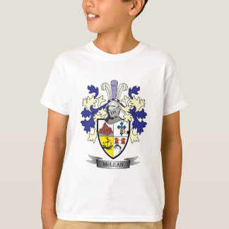 McLean Family Crest Coat of Arms T-Shirt