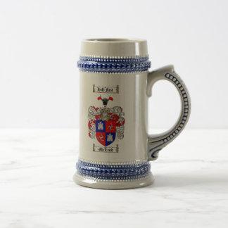 Mcleod Coat of Arms Stein / Mug
