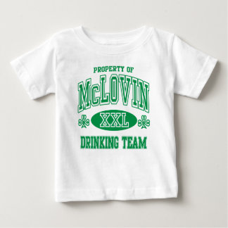 McLovin Irish Drinking Team Baby T-Shirt