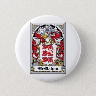 McMahon Family Crest 2 Inch Round Button
