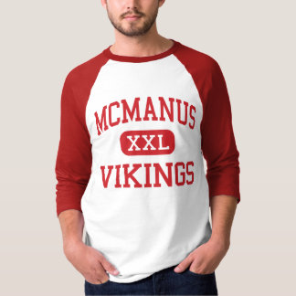 McManus - Vikings - Middle - Linden New Jersey T-Shirt