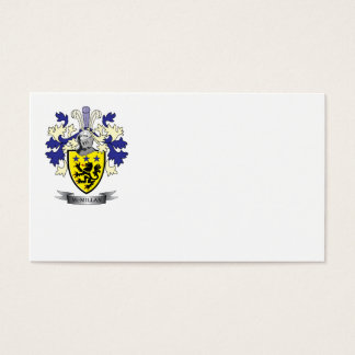 McMillan Family Crest Coat of Arms Business Card