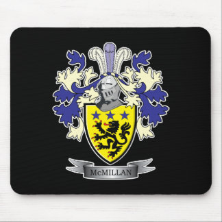 McMillan Family Crest Coat of Arms Mouse Pad