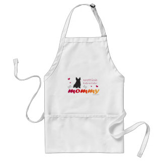 mcoct21 scottish terrier Mommy Standard Apron