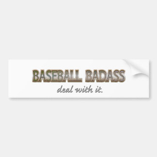 mcoct25a BASEBALL - more sports Bumper Sticker