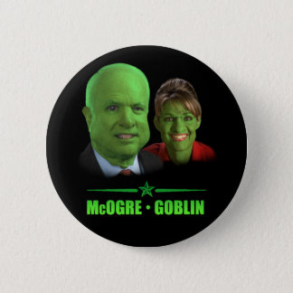McOgre / Goblin '08 2 Inch Round Button