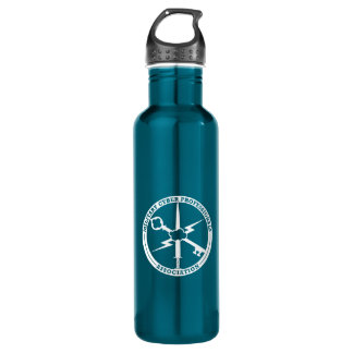 MCPA blue and white 710 Ml Water Bottle