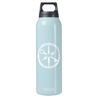 MCPA blue and white Insulated Water Bottle