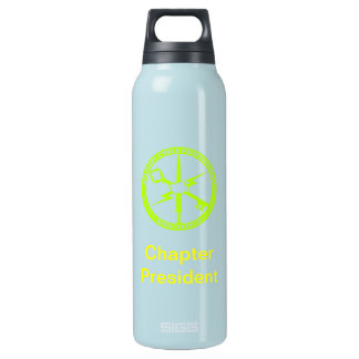 MCPA Blue gold Insulated Water Bottle