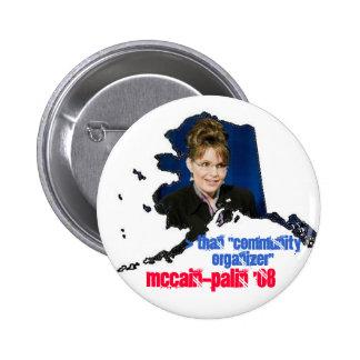 McPalin '08 2 Inch Round Button