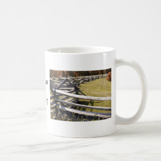 McPherson Ridge Gettysburg PA Coffee Mug
