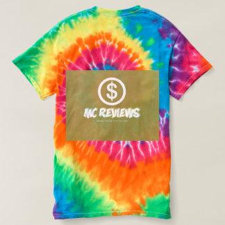 Mcreviews rainbow swirl t-shirt