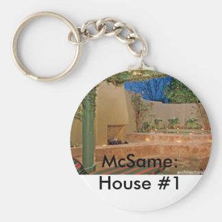 McSame: House #1 Keychain