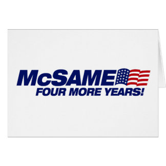 McSame McCain Carte