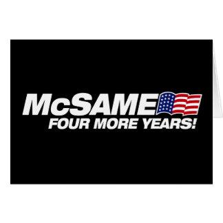 McSame McCain Carte De Vœux