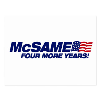 McSame McCain Carte Postale
