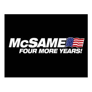 McSame McCain Cartes Postales