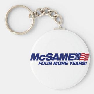 McSame McCain  Keychain