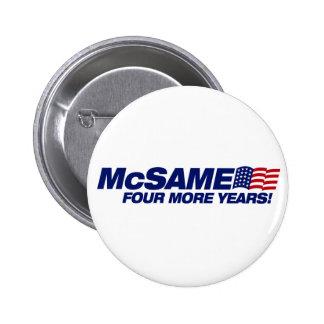 McSame McCain Pin's Avec Agrafe