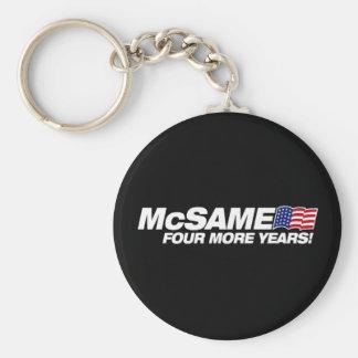 McSame McCain Porte-clé Rond