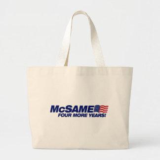 McSame McCain Sac En Toile Jumbo