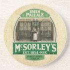 McSorley's Coaster