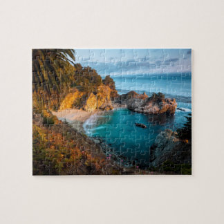 McWay Falls Cove Jigsaw Puzzle