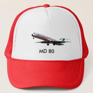 MD80.jpg CLEAN, MD 80 Trucker Hat