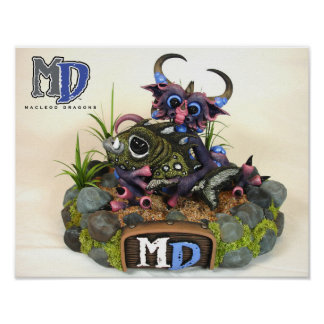 "MD Cuddlefish 11""x14"" Mini Poster"