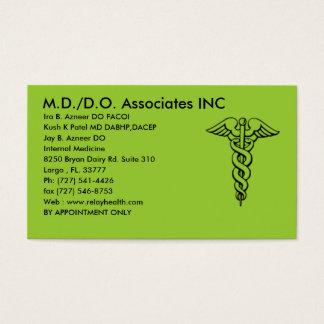 md/do associates inc card - Customized