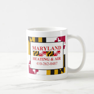 MD flag note cars.jpg Coffee Mug