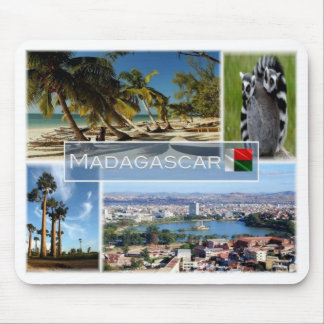 MD Madagascar - Indian Ocean - Mouse Pad