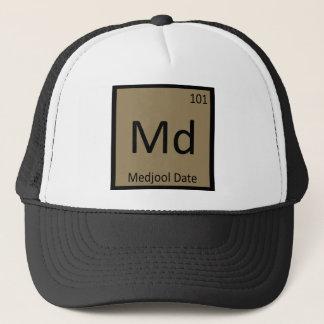 Md - Medjool Date Chemistry Periodic Table Symbol Trucker Hat