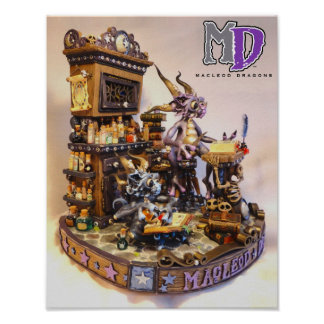 "MD Merlin Dragons 11""x14"" Mini Poster"