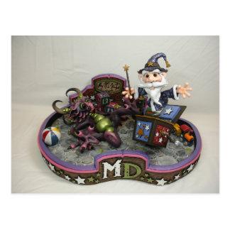 MD Merlin-In-A-Box Postcard