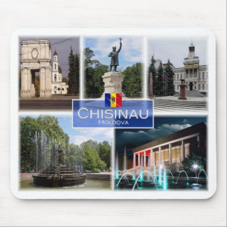 MD - Moldova - Chisinau - Arch of Trionph - Mouse Pad