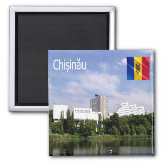 MD - Moldova - Chisinau Square Magnet