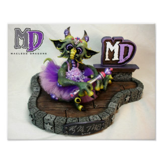 "MD Princess Dragon 11""x14"" Mini Poster"